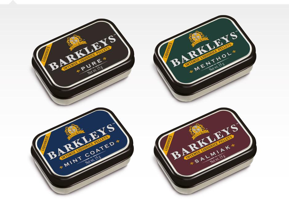 Barkleys liquorice pellets