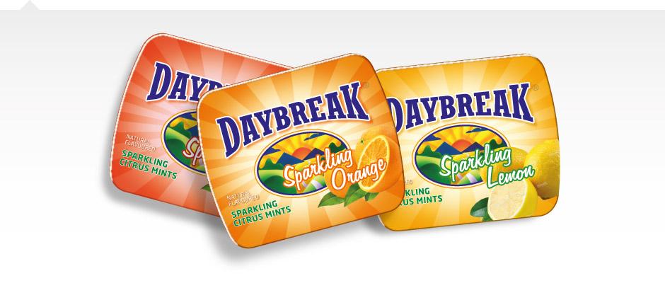 Daybreak tins